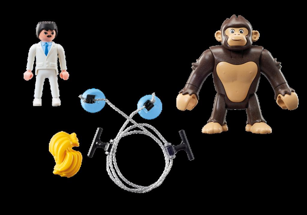 Playmobil 9004 - Giant Ape Gonk - Back