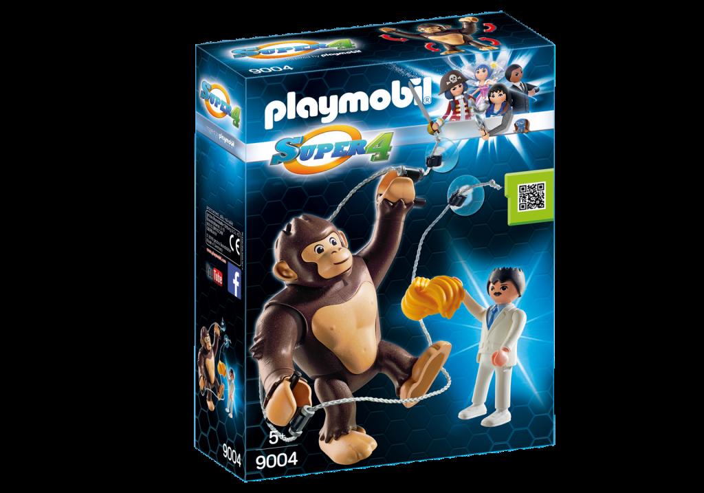 Playmobil 9004 - Giant Ape Gonk - Box