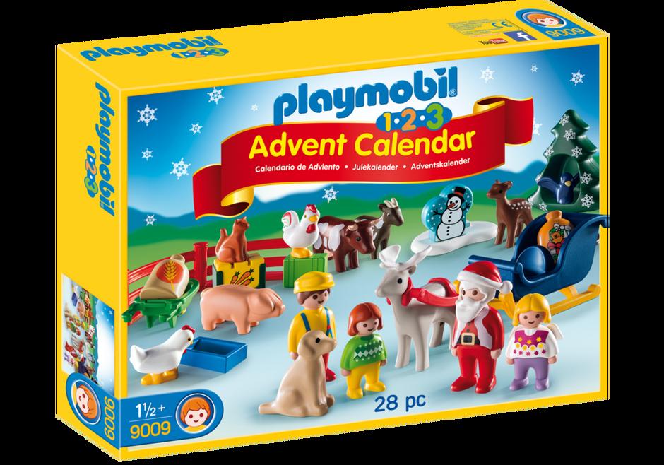 Playmobil 9009 - Christmas on the Farm - Box
