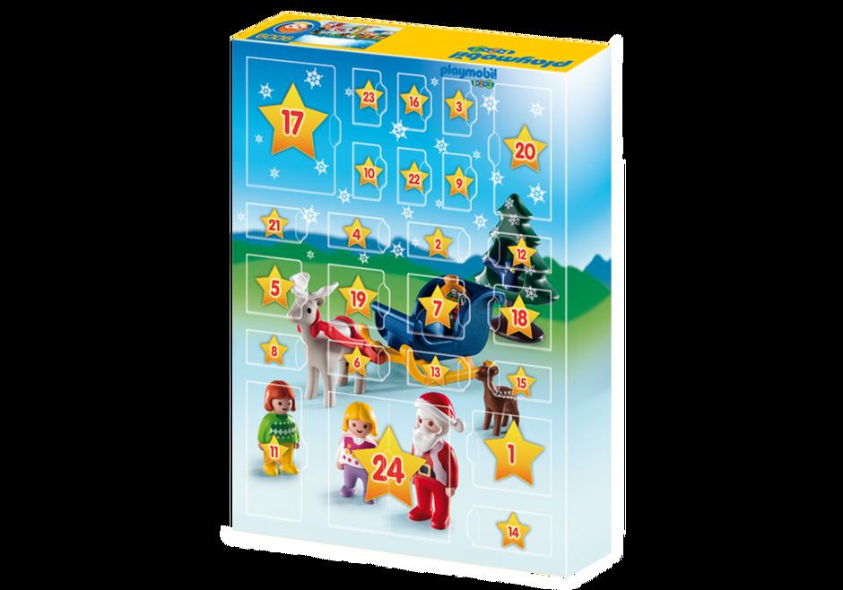 Playmobil 9009 - Christmas on the Farm - Back