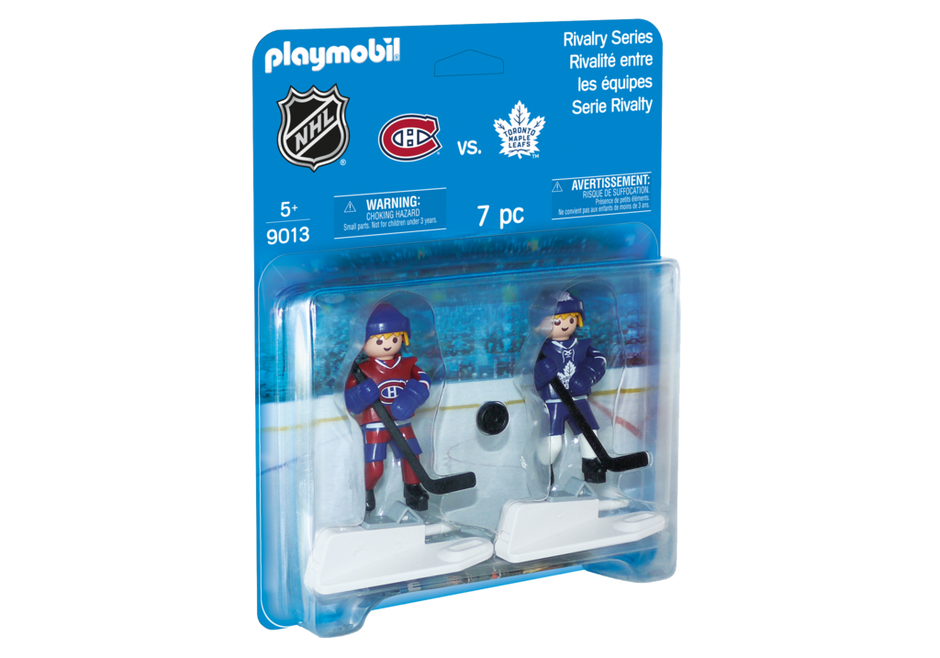 Playmobil 9013-usa - NHL™ Blister Toronto Maple Leafs™ vs Montreal Canadiens™ - Box