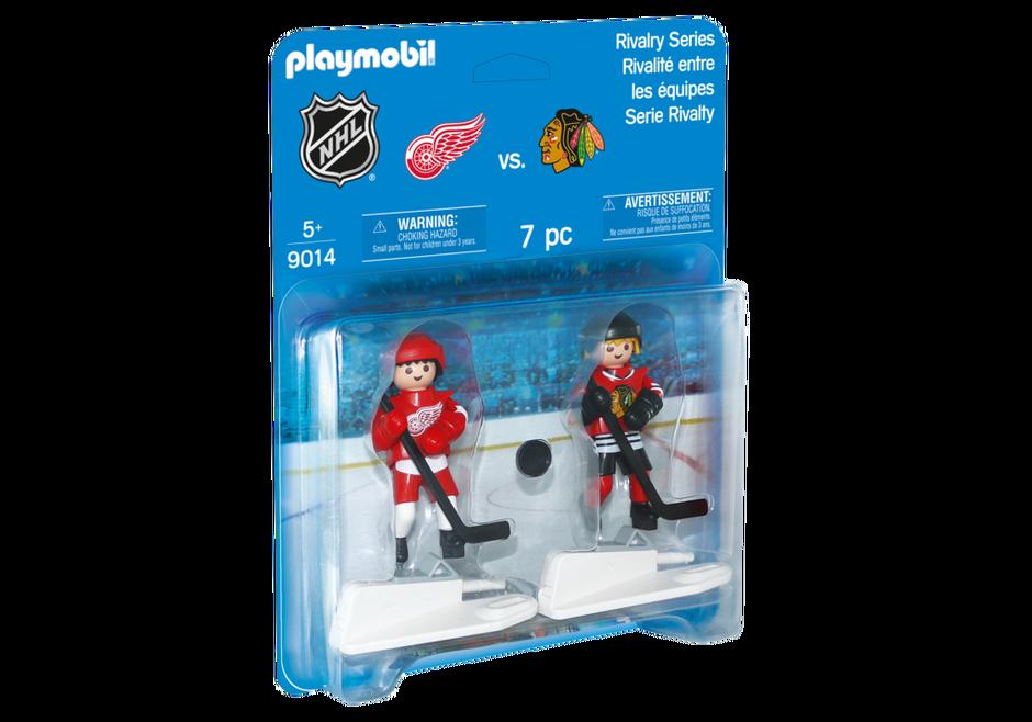 Playmobil 9014-usa - NHL™ Blister Chicago Blackhawks™ vs Detroit Red Wings™ - Box