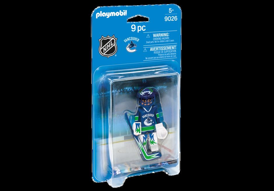 Playmobil 9026-usa - NHL® Vancouver Canucks® Goalie - Box