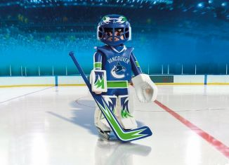 Playmobil - 9026-usa - NHL® Vancouver Canucks® Goalie