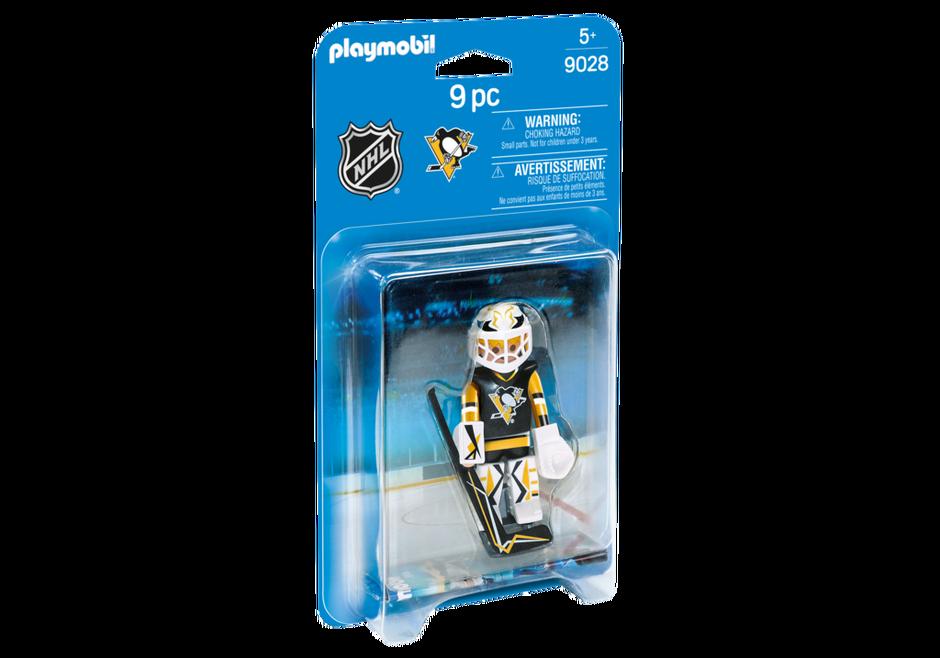Playmobil 9028-usa - NHL® Pittsburgh Penguins® Goalie - Box