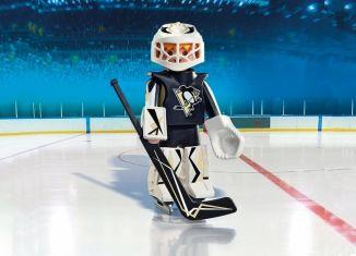 Playmobil - 9028-usa - NHL® Pittsburgh Penguins® Goalie