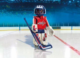 Playmobil - 9034-usa - NHL® Washington Capitals® Goalie