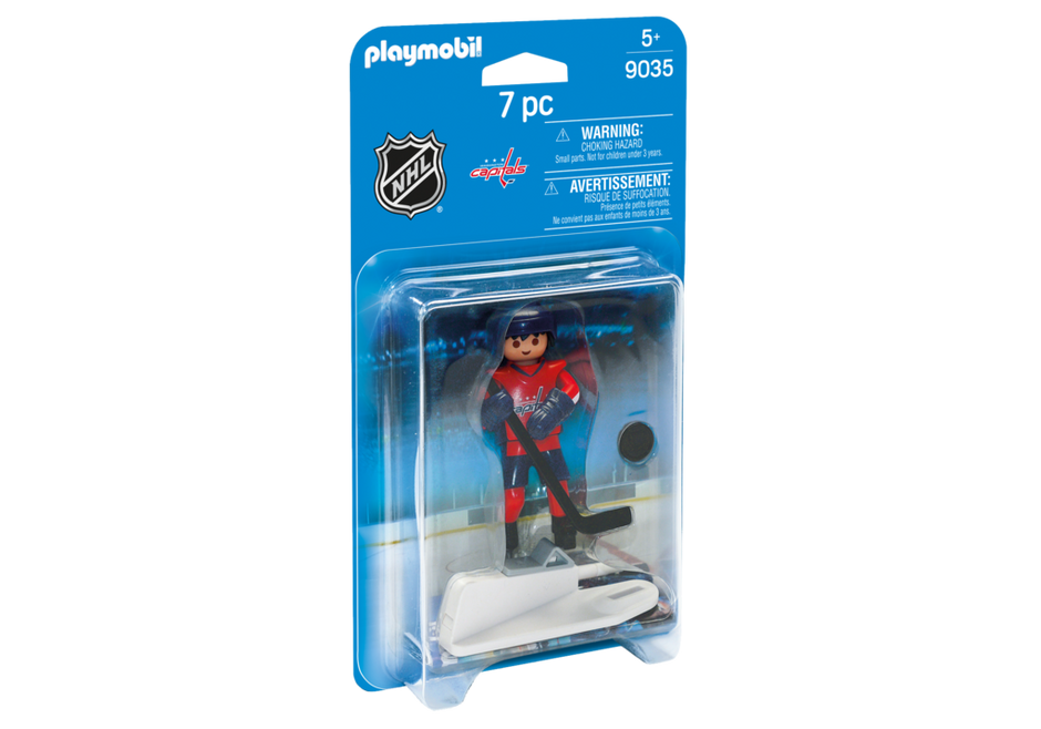 Playmobil 9035-usa - NHL® Washinghton Capitals® Player - Box