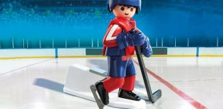 Playmobil - 9035-usa - NHL® Washinghton Capitals® Player