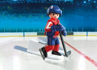 Playmobil - 9035-usa - NHL® Washinghton Capitals® Player