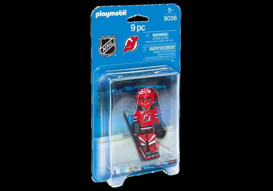 Playmobil 9036-usa - NHL® New Jersey Devils® Goalie - Box