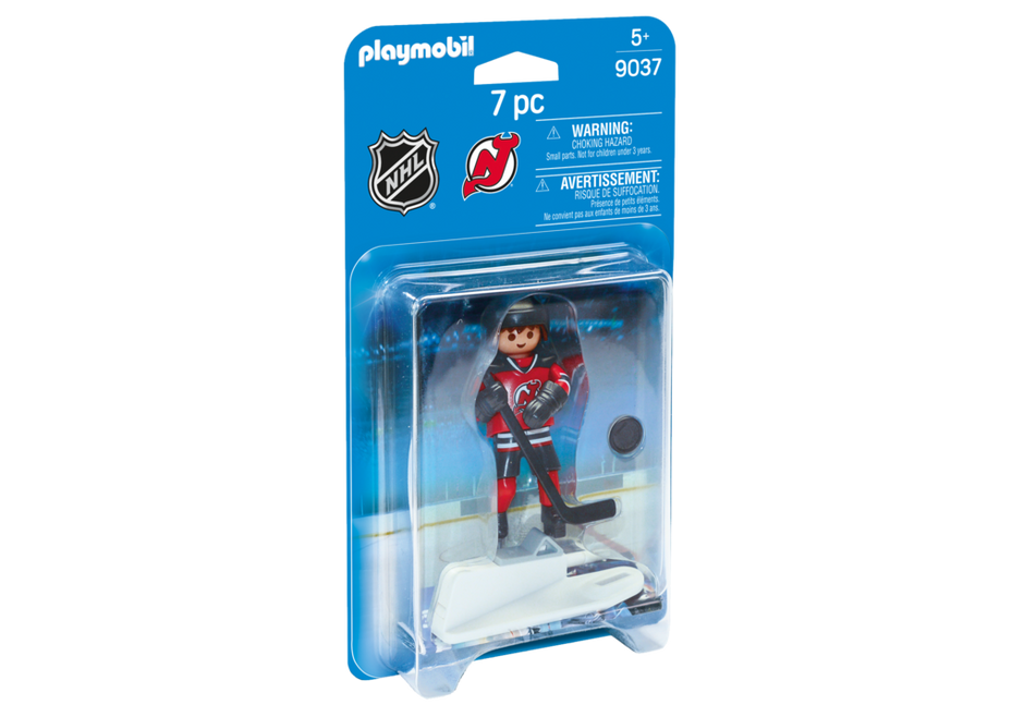 Playmobil 9037-usa - NHL® New Jersey Devils® Player - Box
