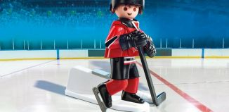 Playmobil - 9037-usa - NHL® New Jersey Devils® Player