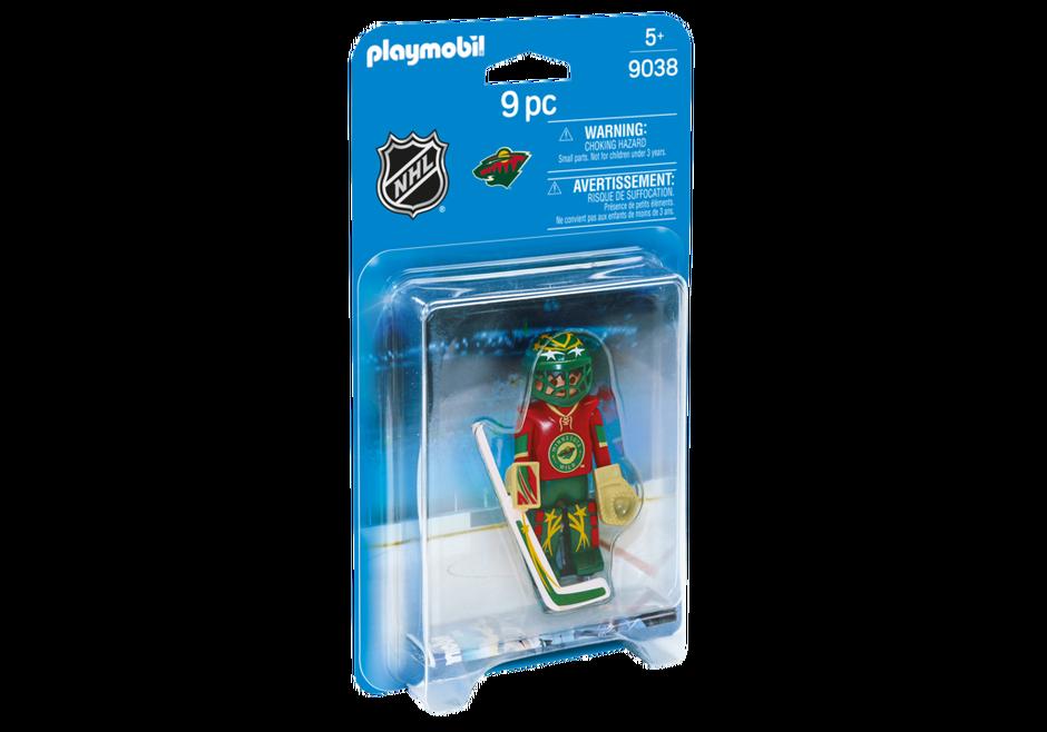Playmobil 9038-usa - NHL® Minnesota Wild® Goalie - Box