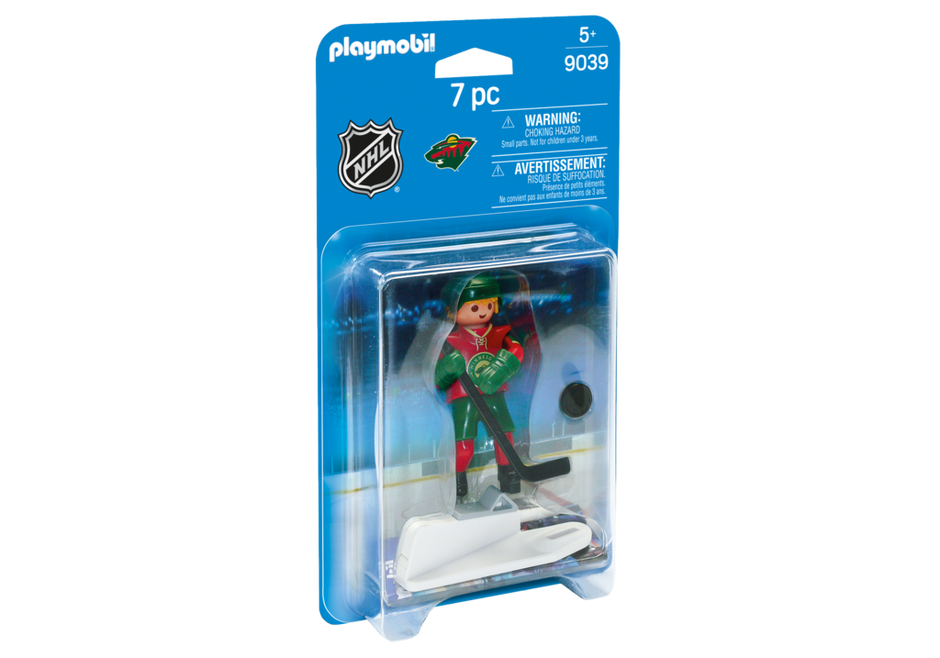 Playmobil 9039-usa - NHL® Minnesota Wild® Player - Box