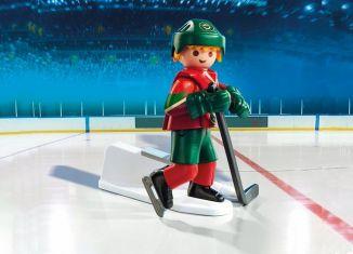 Playmobil - 9039-usa - NHL® Minnesota Wild® Player