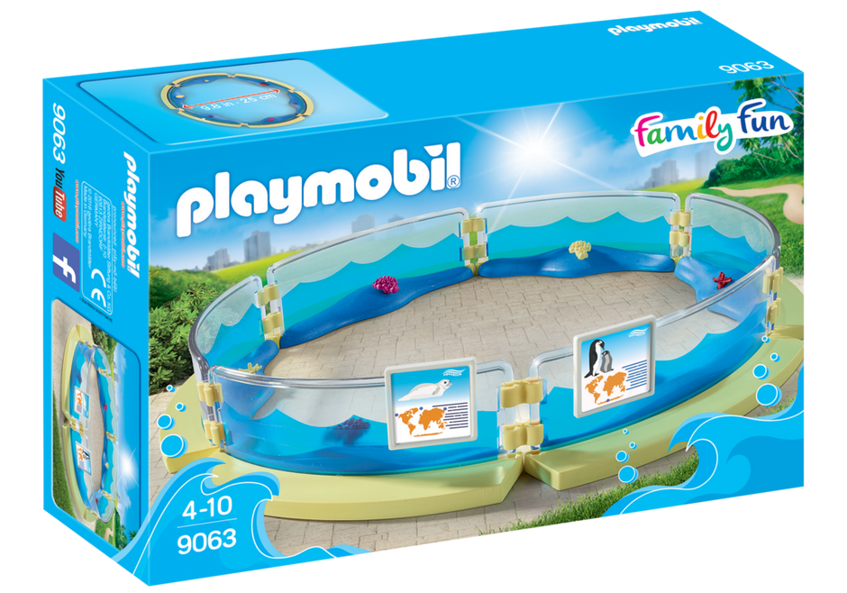 Playmobil 9063 - Aquarium Enclosure - Box