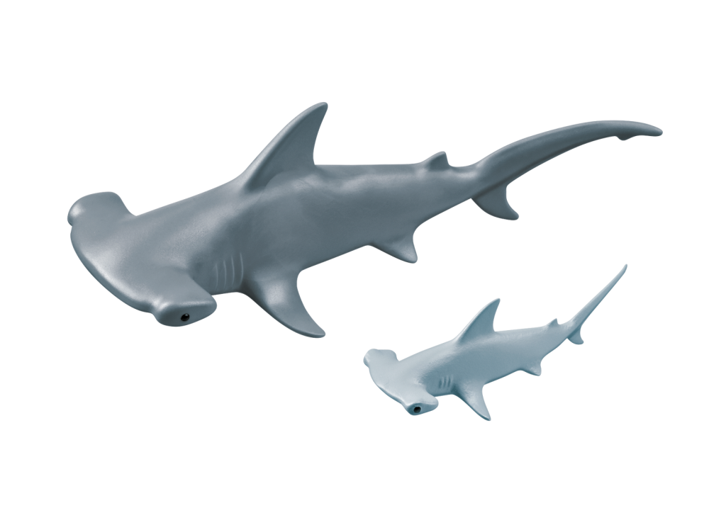 Playmobil 9065 - Hammerhead Sharks - Back