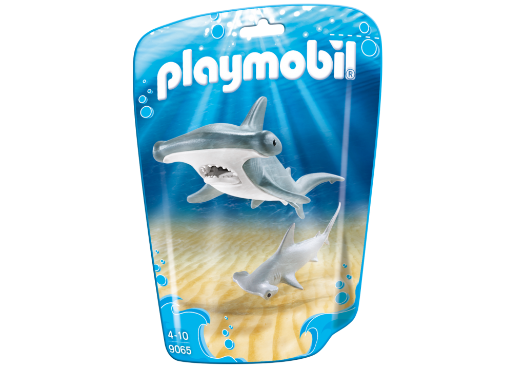 Playmobil 9065 - Hammerhead Sharks - Box