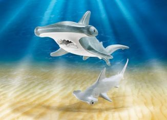 Playmobil - 9065 - Hammerhead Sharks