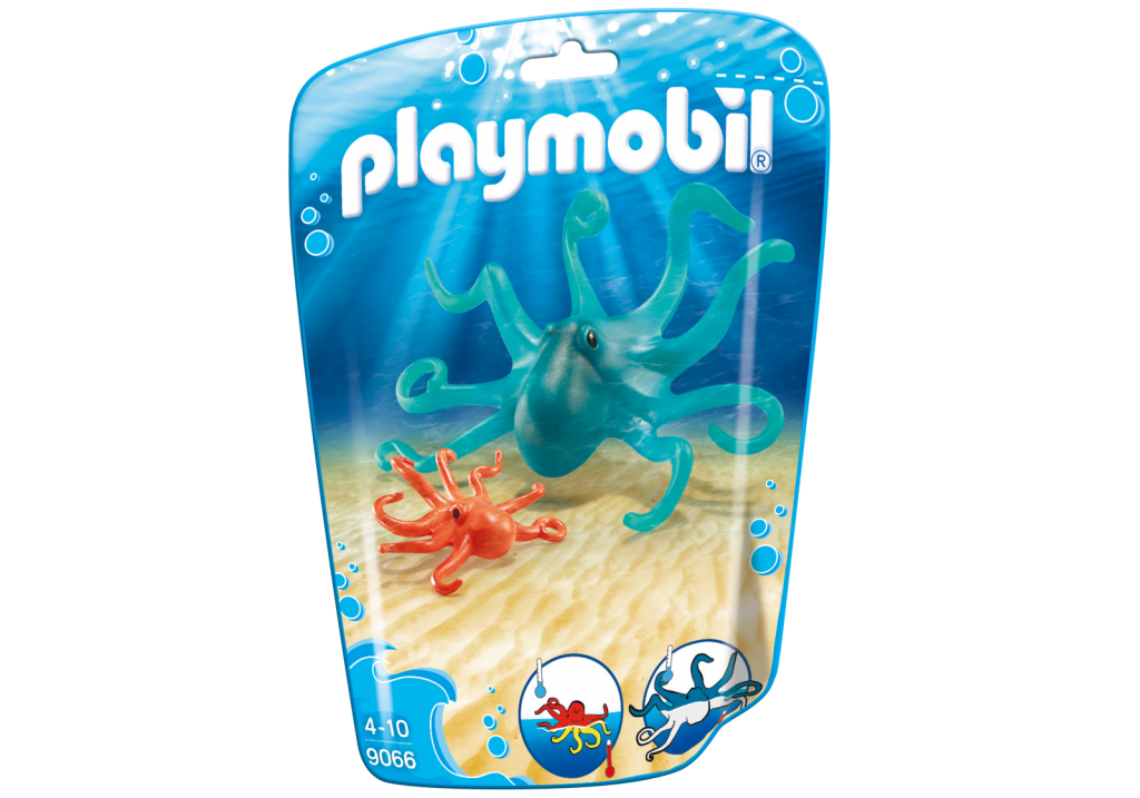 Playmobil 9066 - Octopus - Box