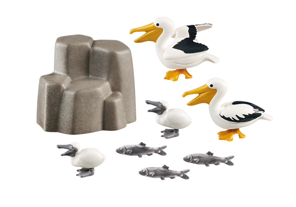 Playmobil 9070 - Pelicans - Back