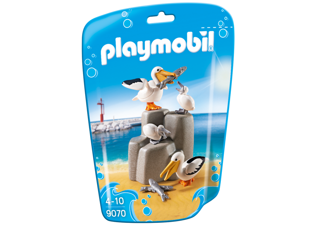 Playmobil 9070 - Pelicans - Box