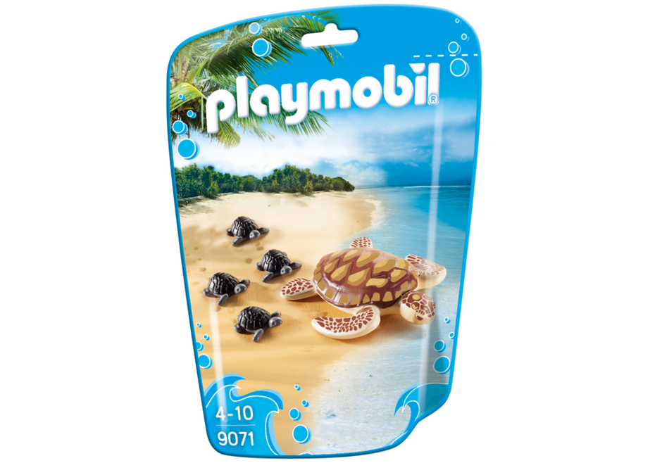 Playmobil 9071 - Turtle with baby - Box
