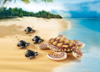 Playmobil - 9071 - Turtle with baby