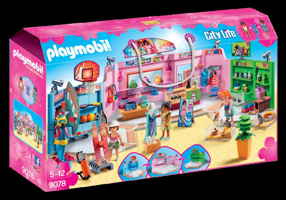 Playmobil 9078 - Shopping Plaza - Box