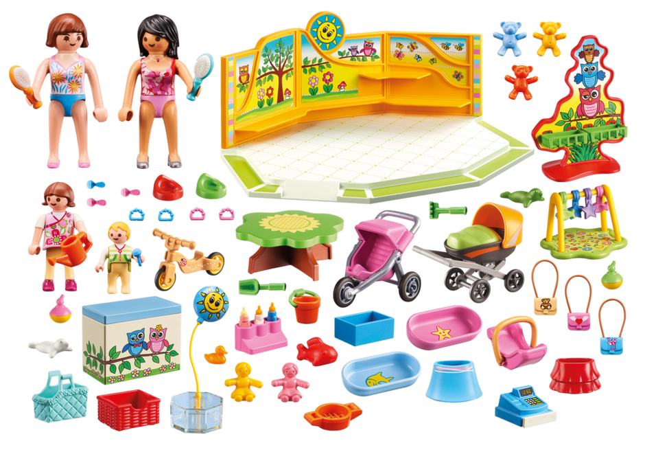 Playmobil 9079 - Baby outfitters - Back