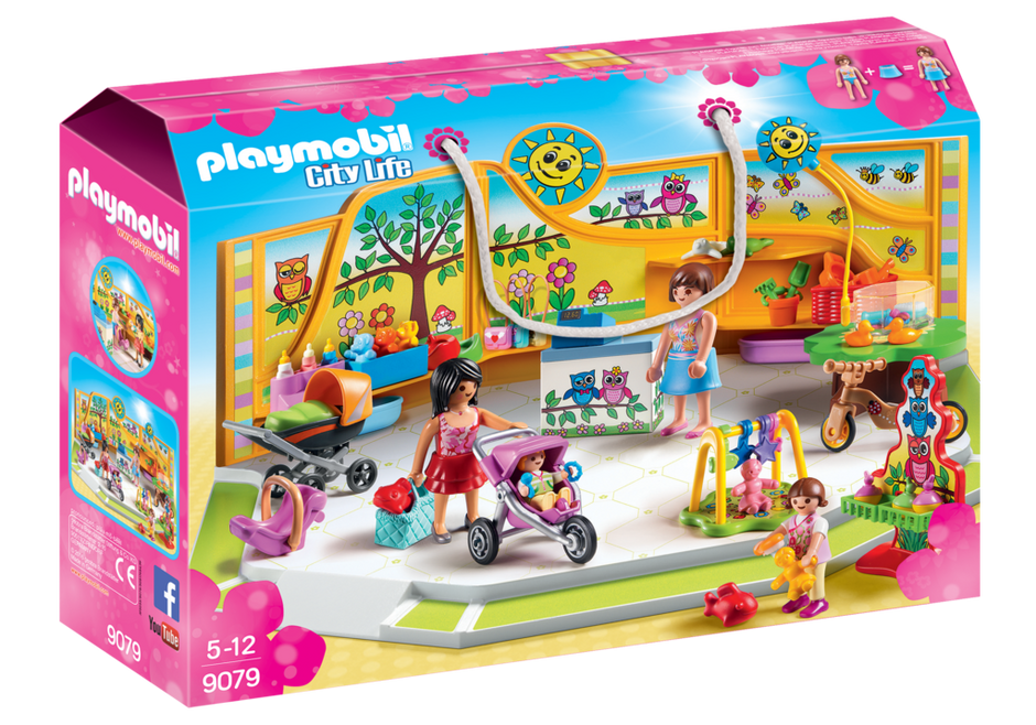Playmobil 9079 - Baby outfitters - Box