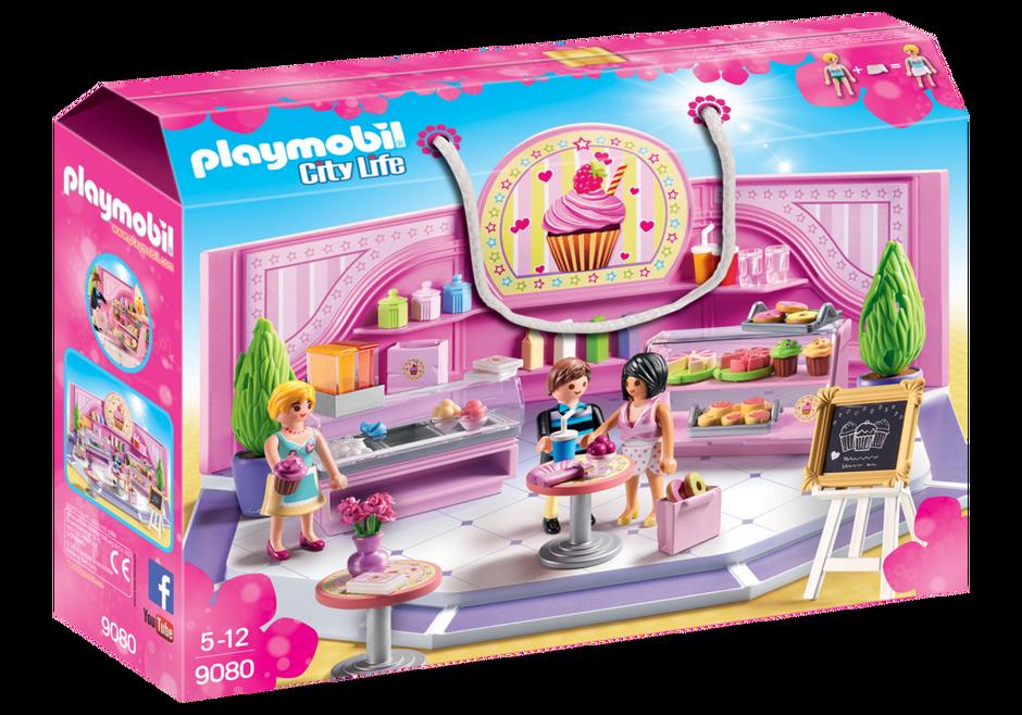 Playmobil 9080 - Cupcake Shop - Box