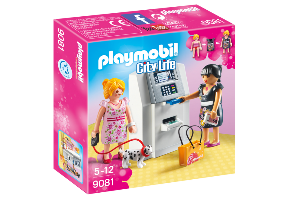 Playmobil 9081 - Cash machine - Box