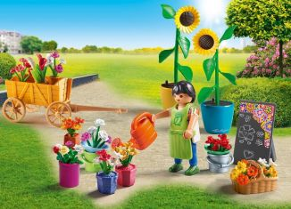 Playmobil - 9082 - Flower traders