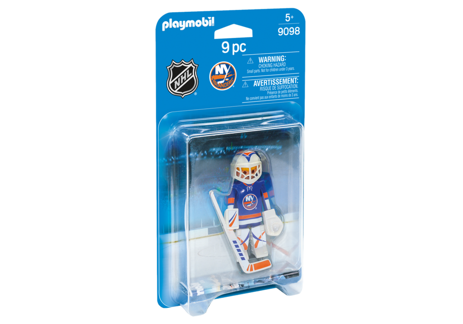Playmobil 9098-usa - NHL® NY Islanders® Goalie - Box