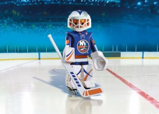 Playmobil - 9098-usa - NHL® NY Islanders® Goalie