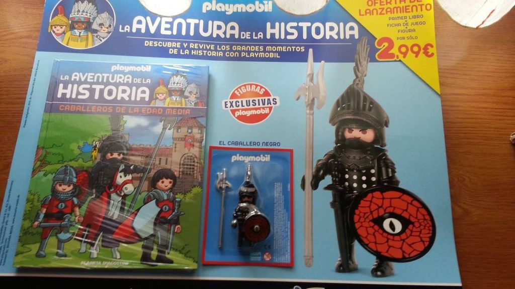 Playmobil LADLH-18 - Black Knight - Box