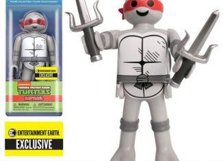 Playmobil - FU9837EE - Teenage Mutant Ninja Turtles - Raphael Black and White - Entertainment Earth Exclusive