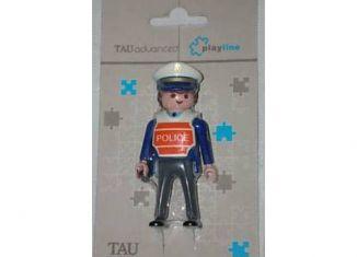 Playmobil - 0000-esp - TAU Cerâmica - Policeman