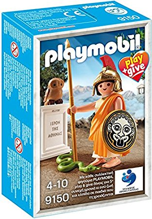 Playmobil 9150-gre - Athena Goddess Greek - Box