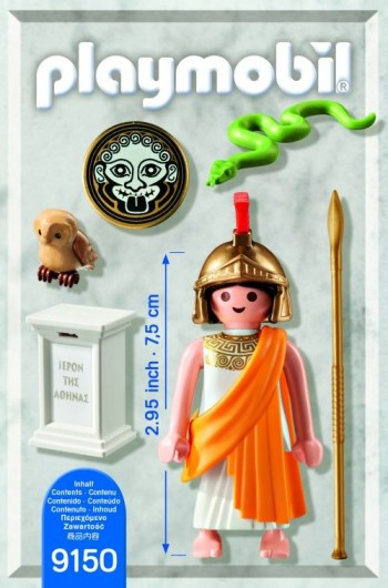 Playmobil 9150-gre - Athena Goddess Greek - Back