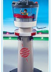 Playmobil - 4313 - Airport Tower with Flashing Light
