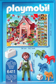 Playmobil 6411 - Animal Clinic Game - Back