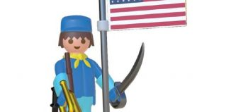 Playmobil - 00000 - Nordic soldier with flag