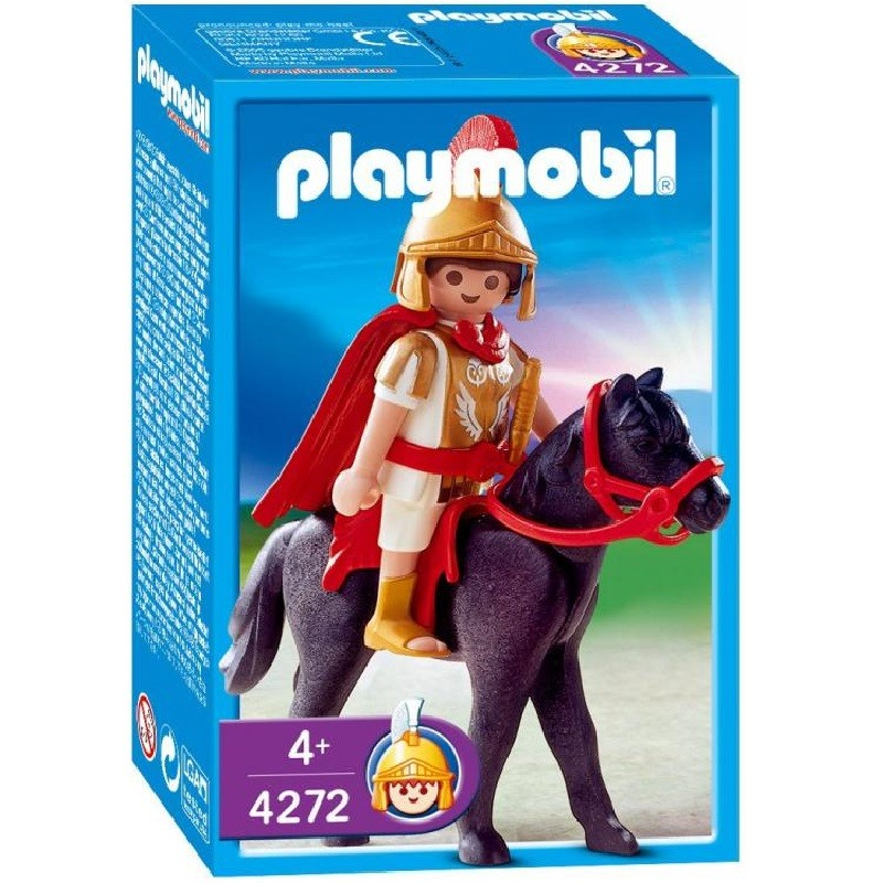 Playmobil 4272 - Warrior with Horse - Box