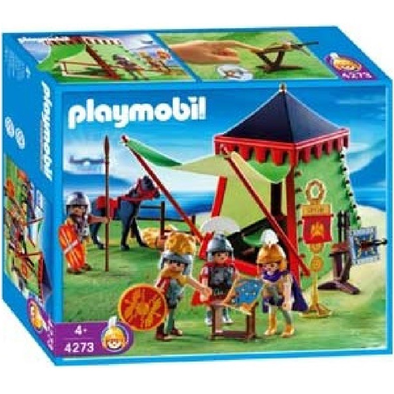 Playmobil 4273 - Commander's Tent - Box