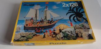 Playmobil - 0000 - 2 puzzles of 126 pieces