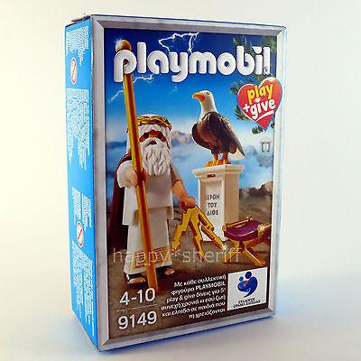 Playmobil 9149-gre - Zeus Greek God - Box