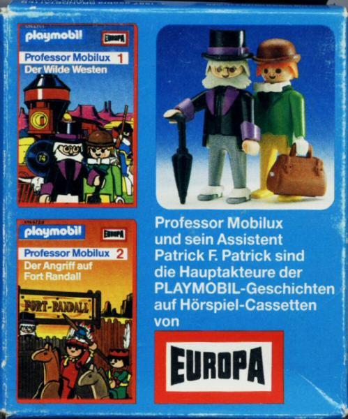 Playmobil 3099 - Professor Mobilux - Back